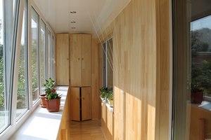 Балкон вагонкой дизайн
