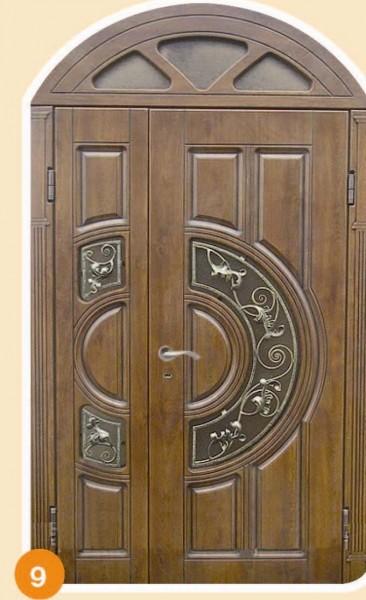 полуторные металлические наружные двери