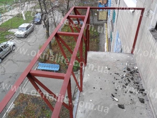 Сварка выноса балкона.